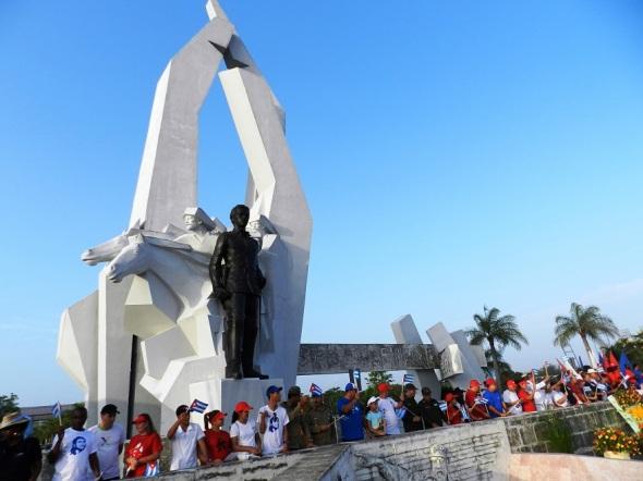 En la Plaza al mayor Gneral Ognacio Agramonte