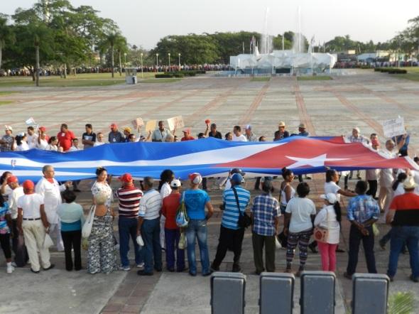 La bandera cubana