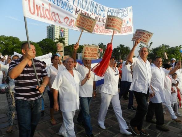 Los trabajadores de la salud