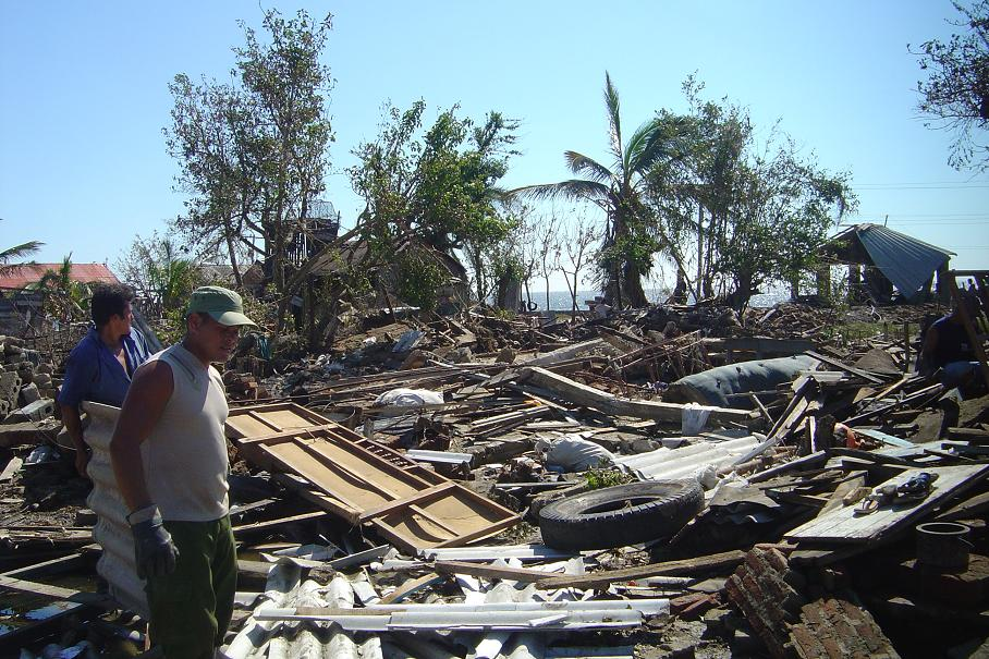 Hurricane Paloma hit Santa Cruz del Sur on November 8th, 2008.