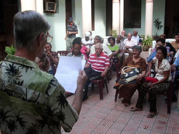 Dedican al Teatro tertulia de la UNEAC camagüeyana
