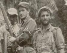 El primero de la izquierda uno de los hermanos Zorzano