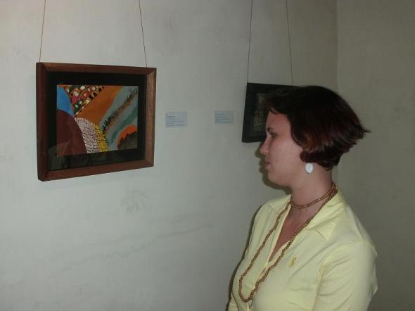 El publico se interesó por las primeras obras que hizo Isabel de las Mercedes, en 1984, cuando con 62 años de edad