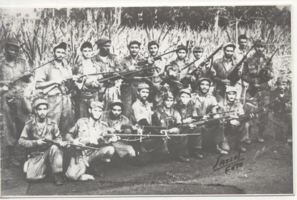 Integrantes del Ejército Rebelde