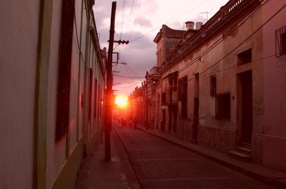 Camagüey, calle Cristo. Foto  Lázaro Najarro