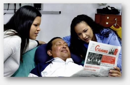 Hugo Chávez se recupera