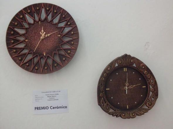 Los Relojes en Ceramica, de Sandra Navarro