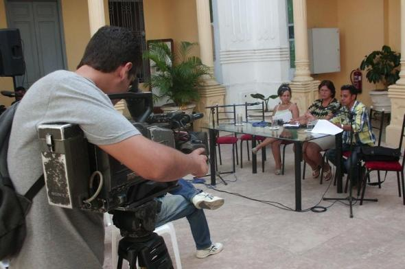 Taller Nacional de la Crítica Cinematográfica. Foto Lázaro David Najarro Pujol
