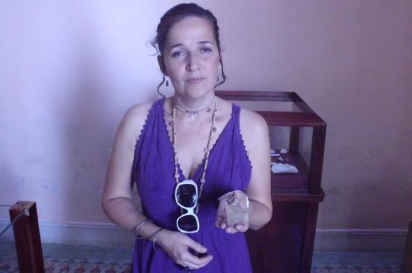 Daimi Ruiz, directora de la Casa de la Diversidad Cultural camagüeyana,