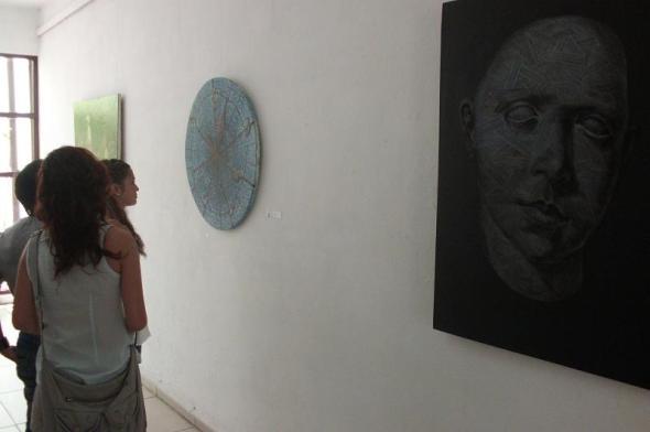 Exposicion de artistas de la plástica