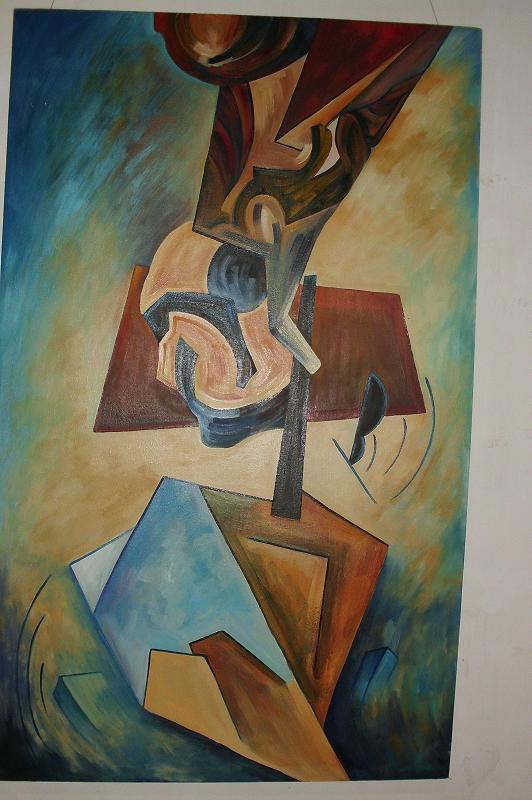 Sin titulo, obra de Ruslán de la Torre
