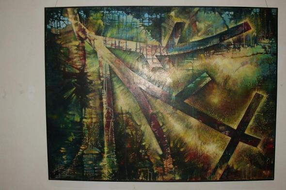 Tierra, obra de Yanel Hernández