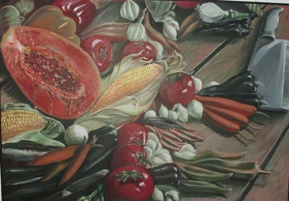 Dieta vegetariana, de Yadiel Echemendía