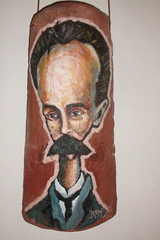 Martí, de la serie Tejado de Vidrio, de Ricardo Bermudez