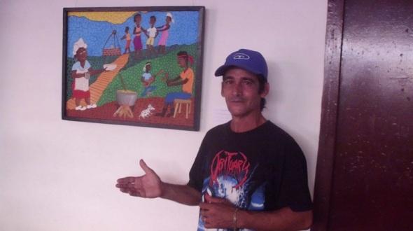 artista camagüeyano de la plástica Roberto Brigido