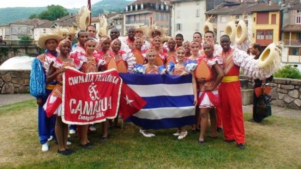 Destacan prestigio del folclor cubano en gira europea Foto cortesia de la agrupación