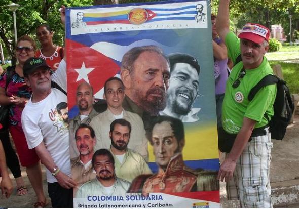El apoyo a los Cinco antiterroristas cubanos está entre los objetivos de la XX Brigada de Solidaridad