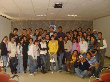 Estudiantes ecuatorianos