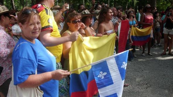 La canadiense Colette Lavergne y su amor hacia Cuba