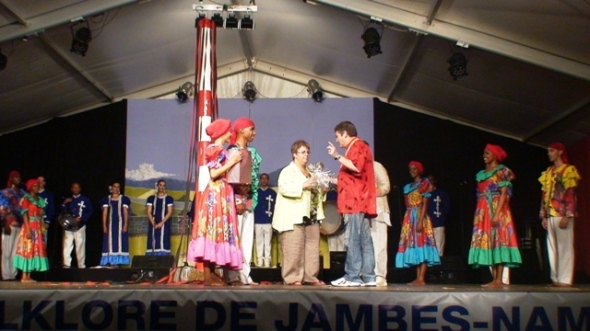 La compañía cubana de danza y música Camagua continuó su gira por Europa