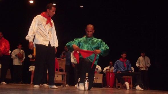 La danza en Cuba a través de una representación artistica resalta a Olorum