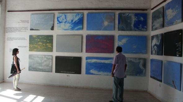 Cielos del mundo en  proyecto expositivo artística cubano