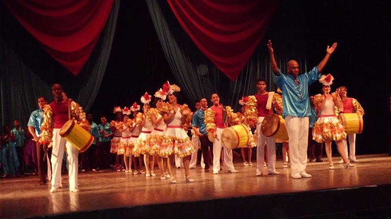 Con aché y danza cierra este año el Ballet Folclórico de Camagüey