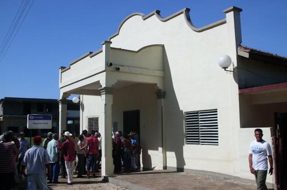En este hospital fueron curados los heridos de Pino Tres
