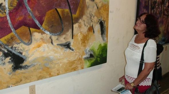 """Huerta es, """"sin dudas, un maestro de la Abstracción"""""""