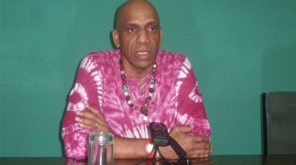 Maestro Reinaldo Echemendía, director artístico del Ballet Folklórico de Camagüey
