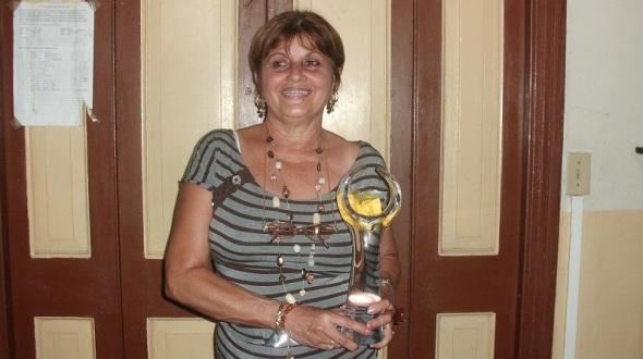 Pedagoga cubana Magaly Ochoa, directora del Seminternado Josué PaísG5721