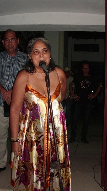 Premio por la Obra de la Vida, a la artista de la plástica camagüeyana Ileana Sánchez
