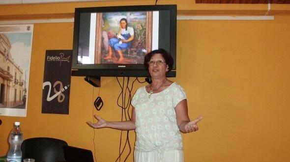 Refirió al reflejo de la mujer cubana como tema en las obras de los pintores