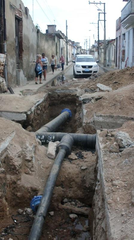 Ahora las labores de remozamiento y de rehabilitación del sistema hidráulico continúan en otras áreas