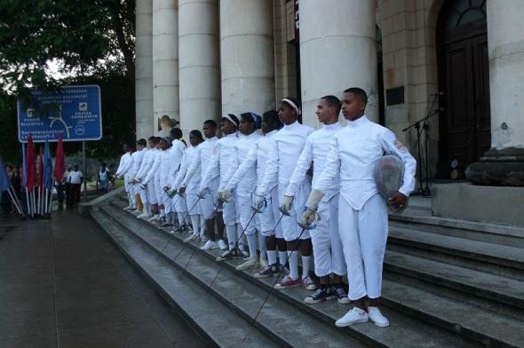 Esgrima camagüeyana