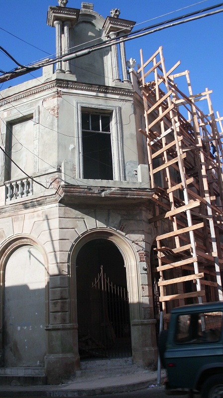 Fachada del teatro Avellaneda
