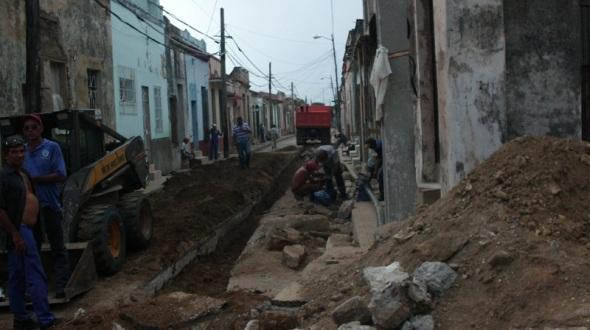 La rehabilitación del Sistema hidraúlico finalizó en el centro historico y ahora prosigue en otras áreas de la ciudad
