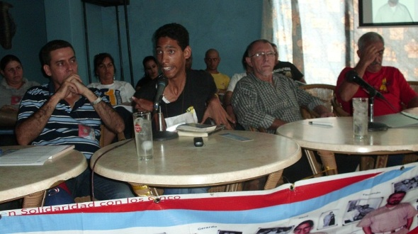 Jorge Enrique Jérez,presidente del Movimiento por Los Cinco en Camagüey