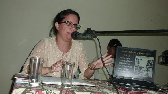 musicóloga Heidi Cepero