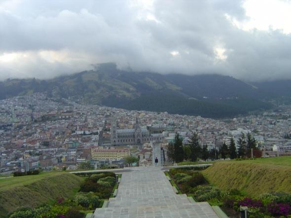 Quito Ecuador.  sede del Festival Mundial de la Juventud y los Estudiantes. Foto Lázaro David Najarro Pujol