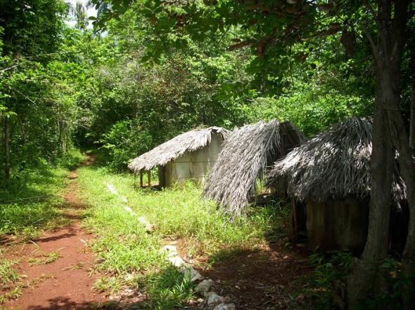 Réplica de una aldea taína. Foto Lázaro David Najarro Pujol