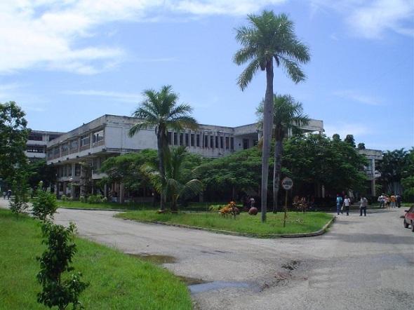 Universidad camagüeyana. Foto Lázaro D. Najarro P