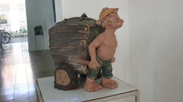 Almas al vacío, del escultor cubano Luís Londres Miguel (4)
