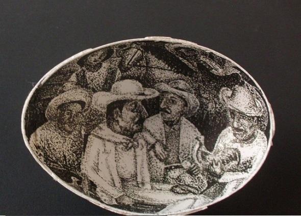 Arte en miniatura. Obra en concurso. Foto Lázaro David Najarro