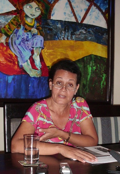 Ingeniera María Isabel Carmenates, de la Comisión Científica