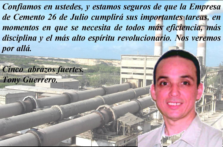 Expresa Héroe cubano Tony Guerrero confianza en los jóvenes de Nuevitas