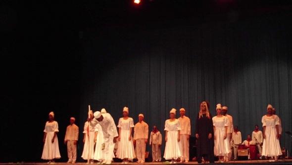 Una proyección vinculada a las tradiciones heredadas de la cultura africana