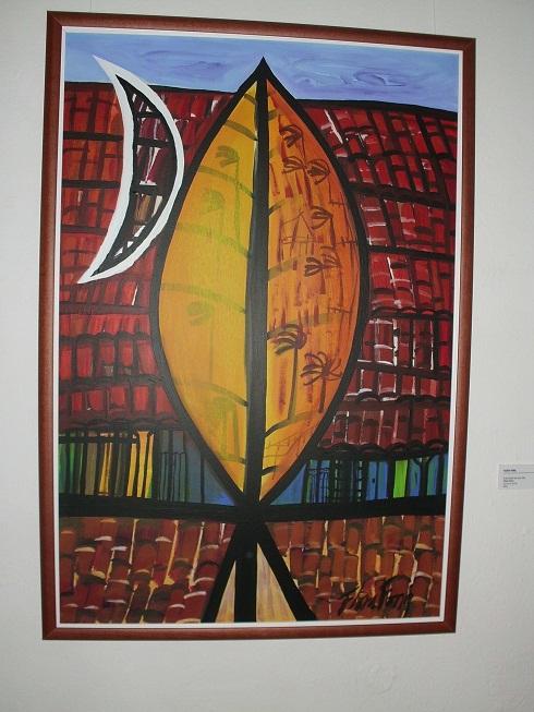 El principio de una cilla.Mixta-Lienzo. 112 cm x 75