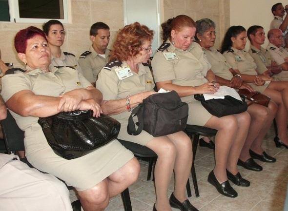 Trabajadores de la Aduana en Camagüey