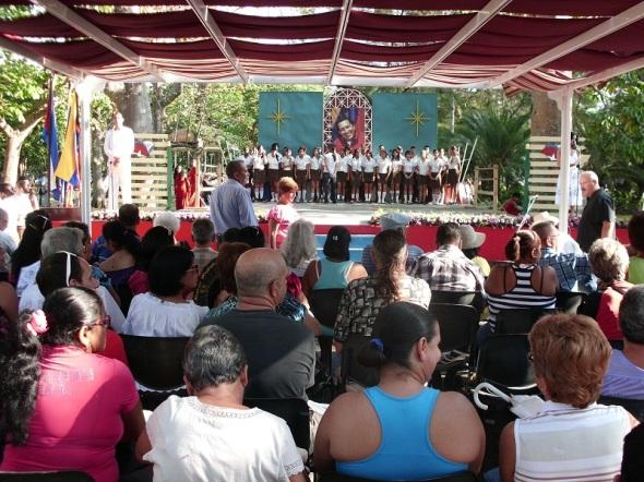 Inauguracion Feria del Libro en Camagïuey